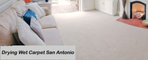 Drying Wet Carpet San Antonio